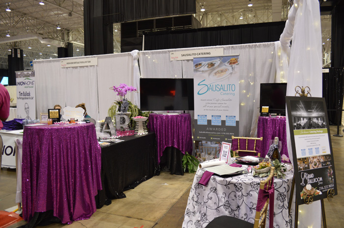Booth Design | as seen on TodaysBride.com