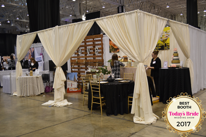 Best Booth Awards | IX Center | As Seen on TodaysBride.com