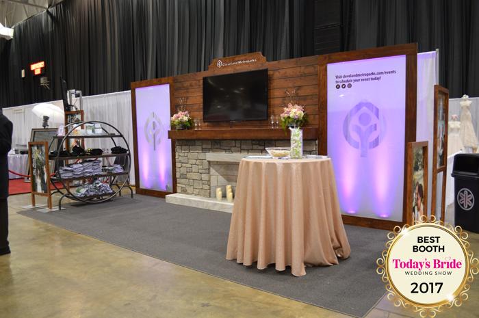 Best Booth Awards | IX Center | As Seen on Todaysbride.com