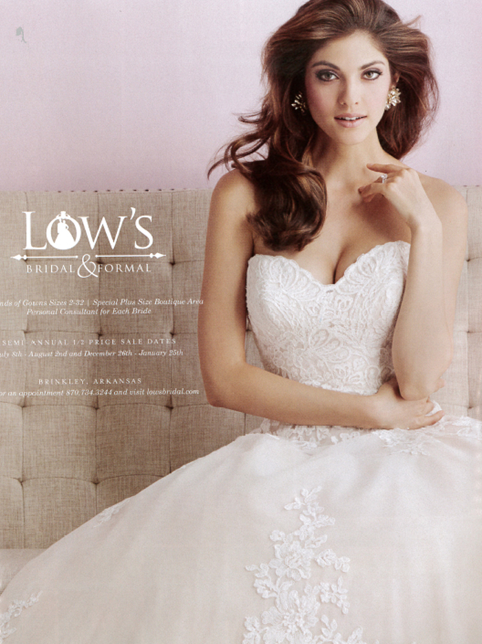 Bridal Shop Ad Sample