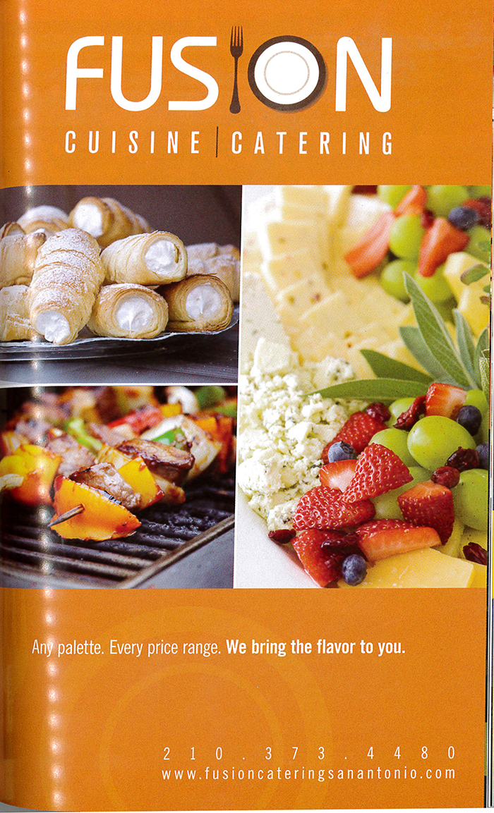 Catering Ad Sample