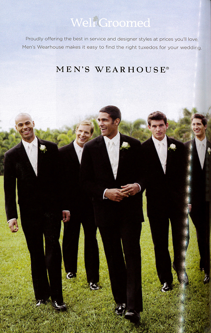 Men's Wearhouse Ad Sample
