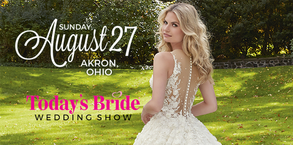 Today's Bride Announces their August Bridal Show