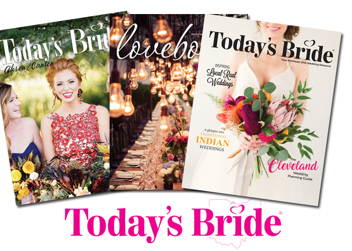Today's Bride Magazines | As seen on TodaysBride.com