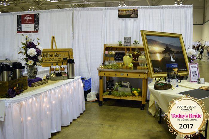 Booth Design Awards | Springlake Party Center | As seen on TodaysBride.com