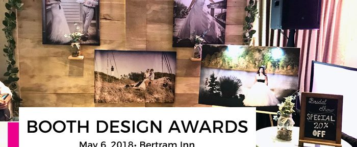 May 6th Bertram Inn Bridal Show Booth Design Awards