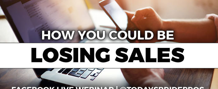 [WEBINAR] Are You Losing Sales?