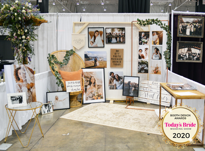 Booth Design | Juliana Cole Photography | As seen on TodaysBride.com